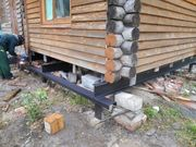 Фундамент на сваях установим в Краснополье и р-н