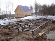 Свайно-винтовой Фундамент под ключ в Смолевичах